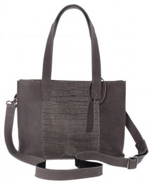Chabo bag Barca croco Elephant Grey