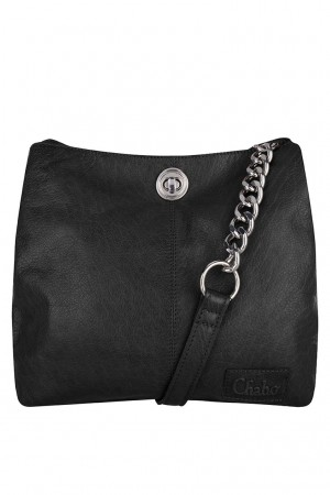 Chabo chain bag small Black