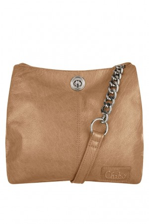 Chabo chain bag small Camel